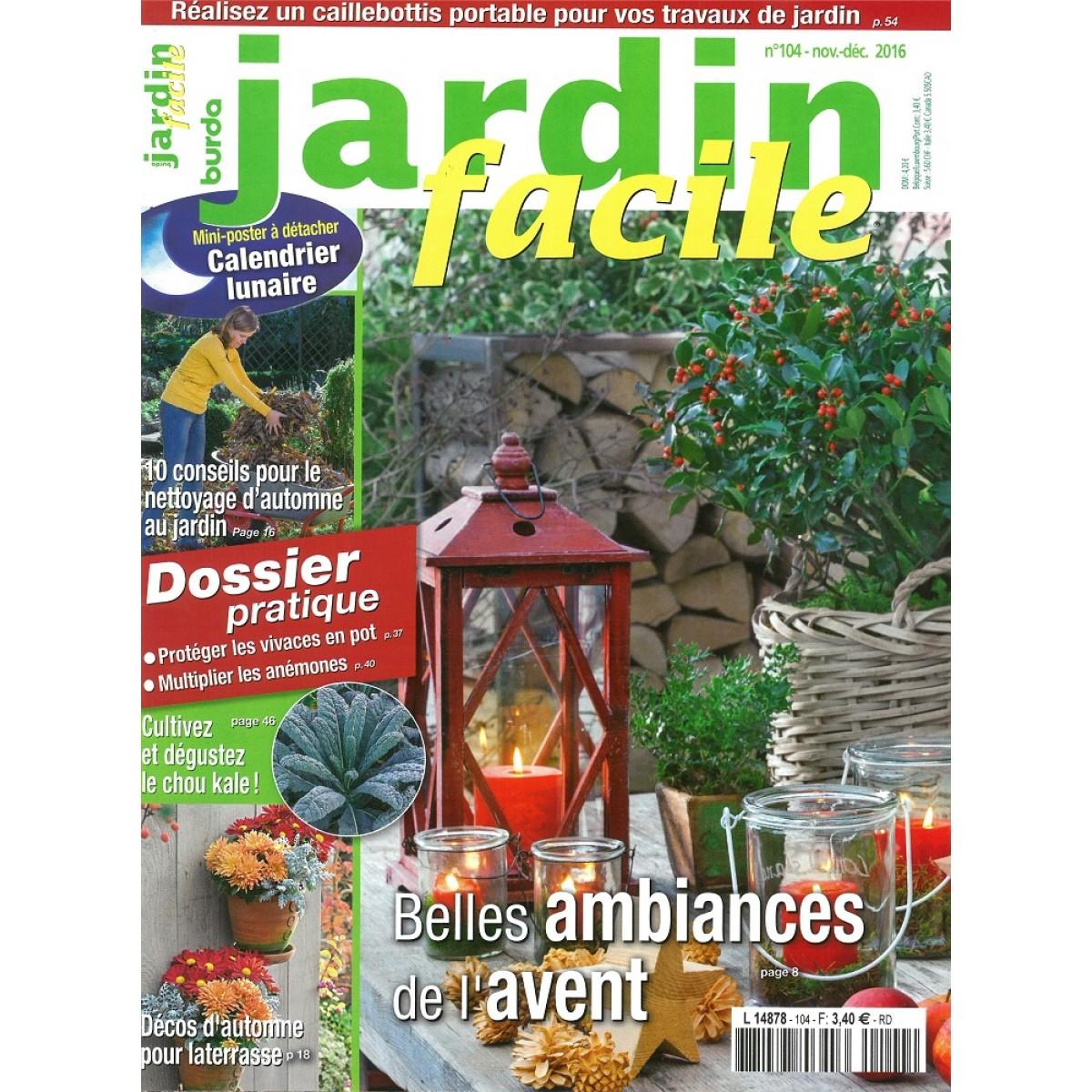 Abonnement jardin facile pas cher mag24 discount for Jardin facile
