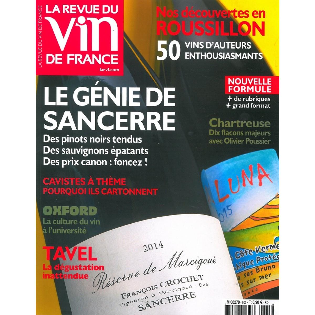 Abonnement la revue du vin de france pas cher mag24 for Revue des vins de france