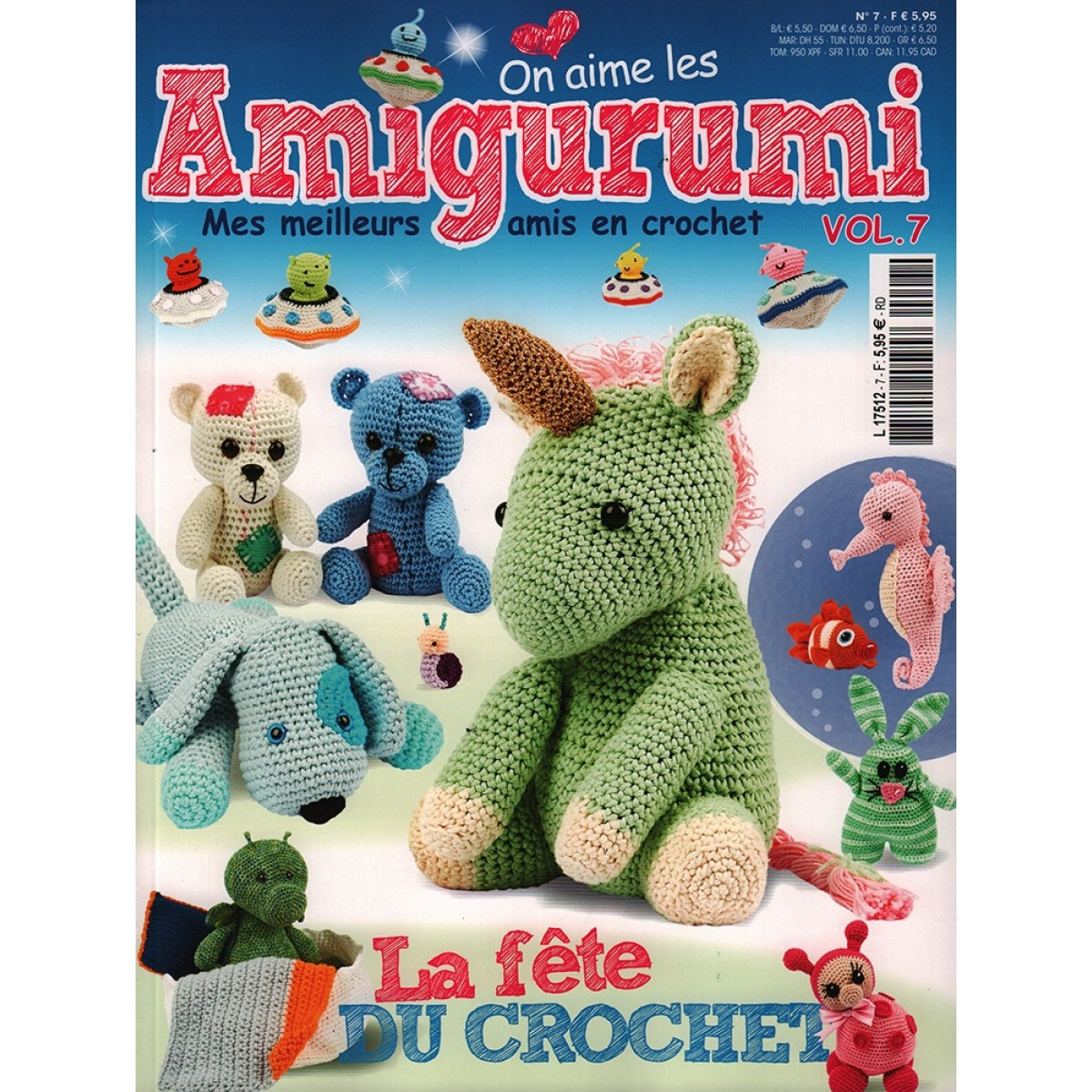 magazine amigurumi pas cher tricot crochet mag24. Black Bedroom Furniture Sets. Home Design Ideas