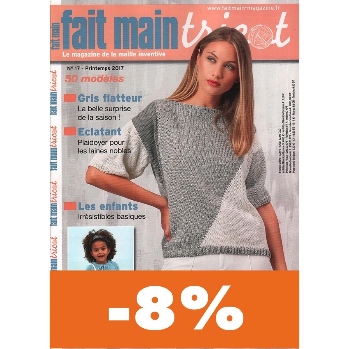 abonnement fait main tricot pas cher mag24 discount. Black Bedroom Furniture Sets. Home Design Ideas
