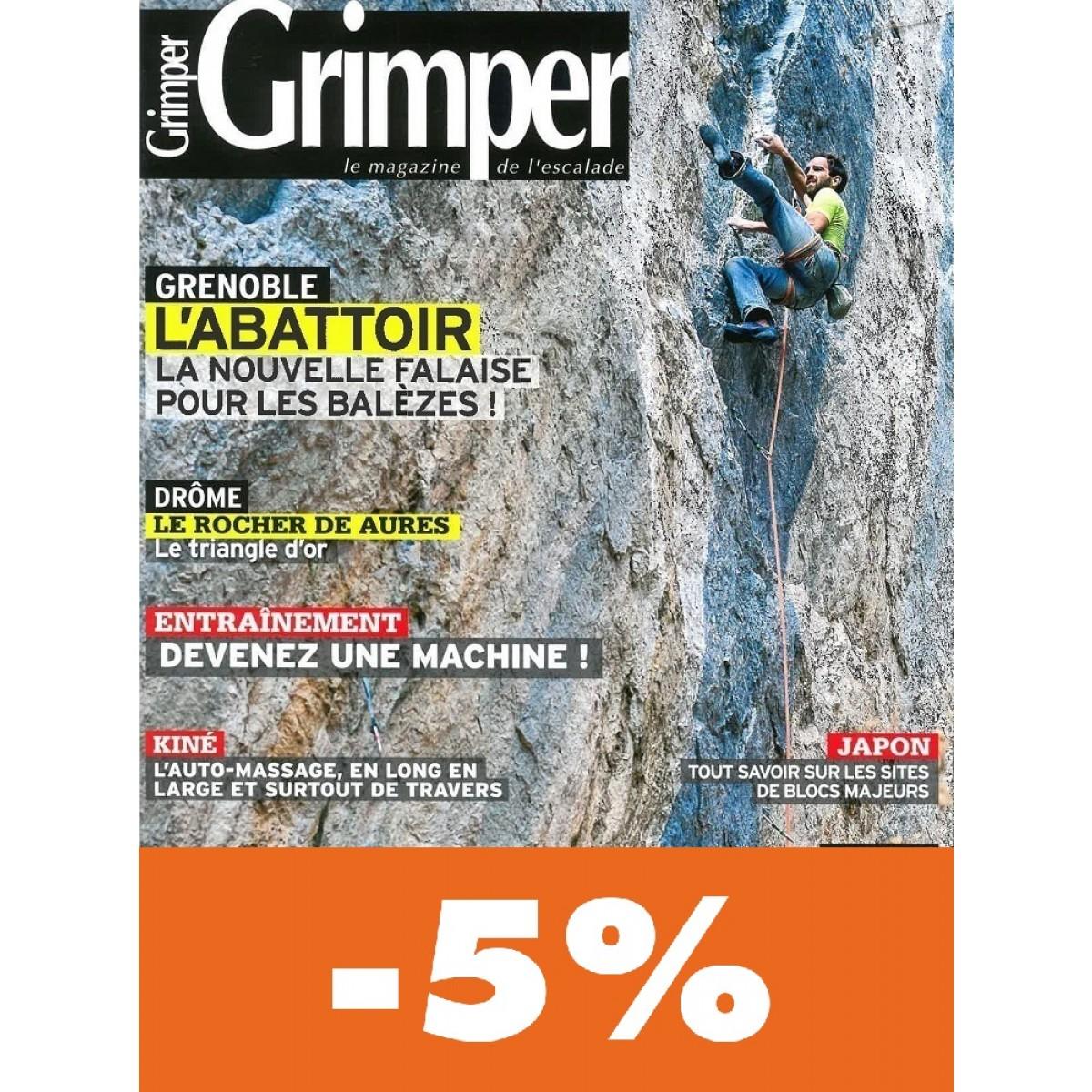 abonnement grimper magazine pas cher mag24 discount. Black Bedroom Furniture Sets. Home Design Ideas