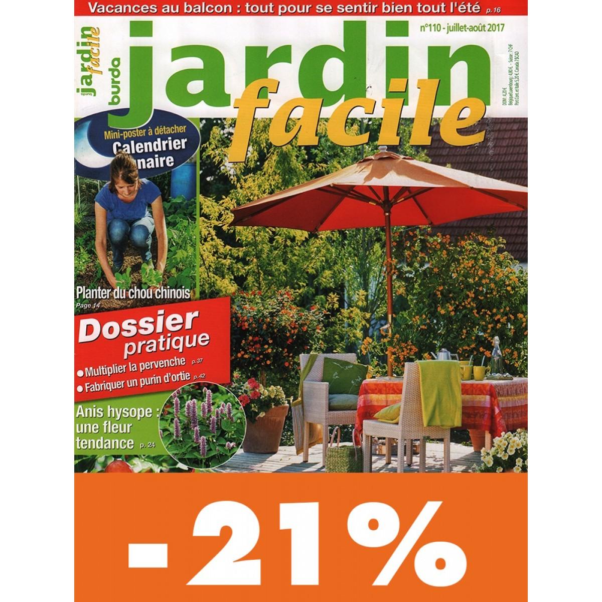 Abonnement jardin facile pas cher mag24 discount for Jardin 5 juillet biskra