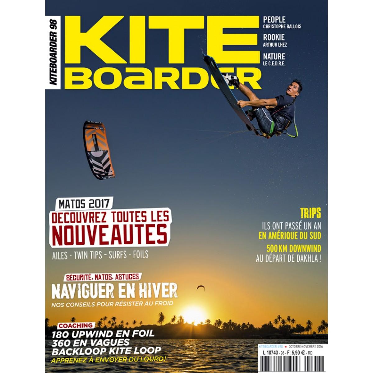 abonnement kiteboarder magazine pas cher mag24. Black Bedroom Furniture Sets. Home Design Ideas