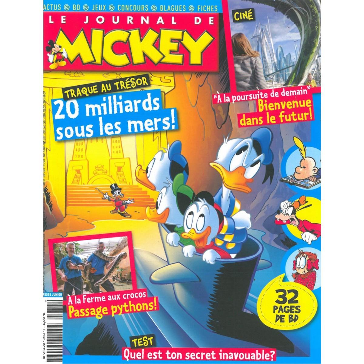 Abonnement magazine le journal de mickey sur mag24 - Jeux de cuisine de mickey ...