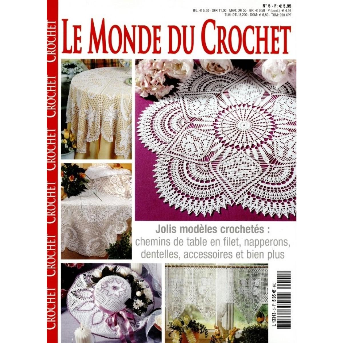abonnement le monde du crochet pas cher mag24 discount. Black Bedroom Furniture Sets. Home Design Ideas