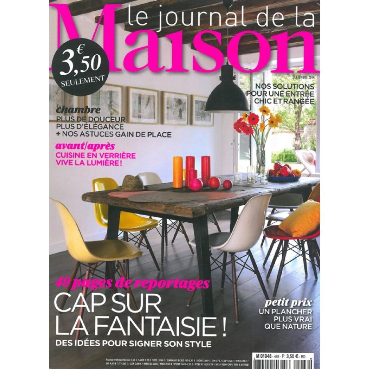 abonnement magazine le journal de la maison sur mag24. Black Bedroom Furniture Sets. Home Design Ideas