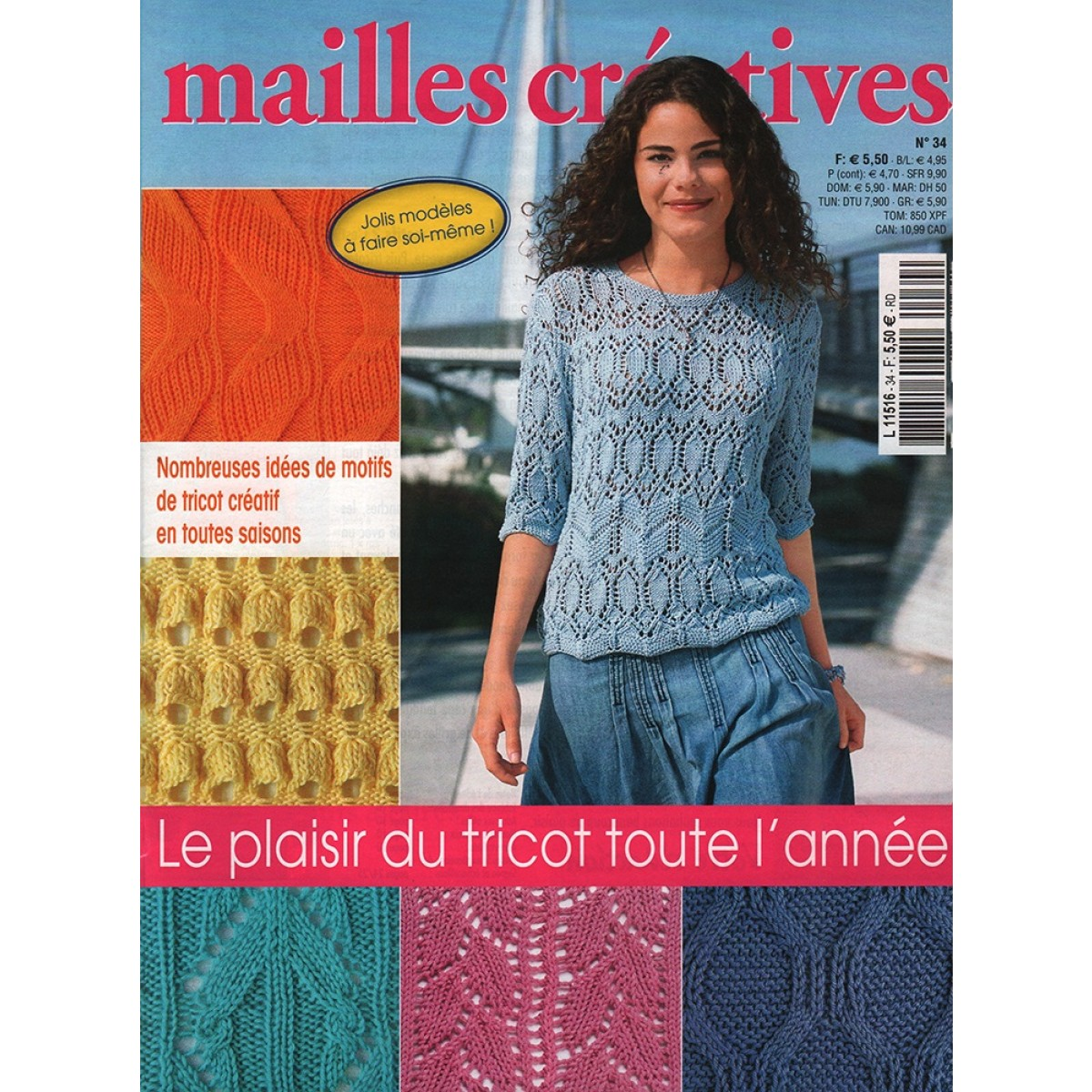 Abonnement Mailles Cr Atives Mag24 Magazine Discount