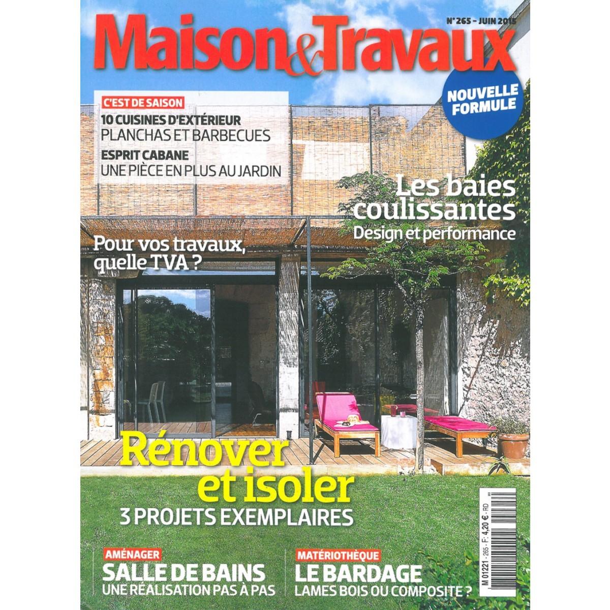 abonnement magazine maison et travaux sur mag24. Black Bedroom Furniture Sets. Home Design Ideas