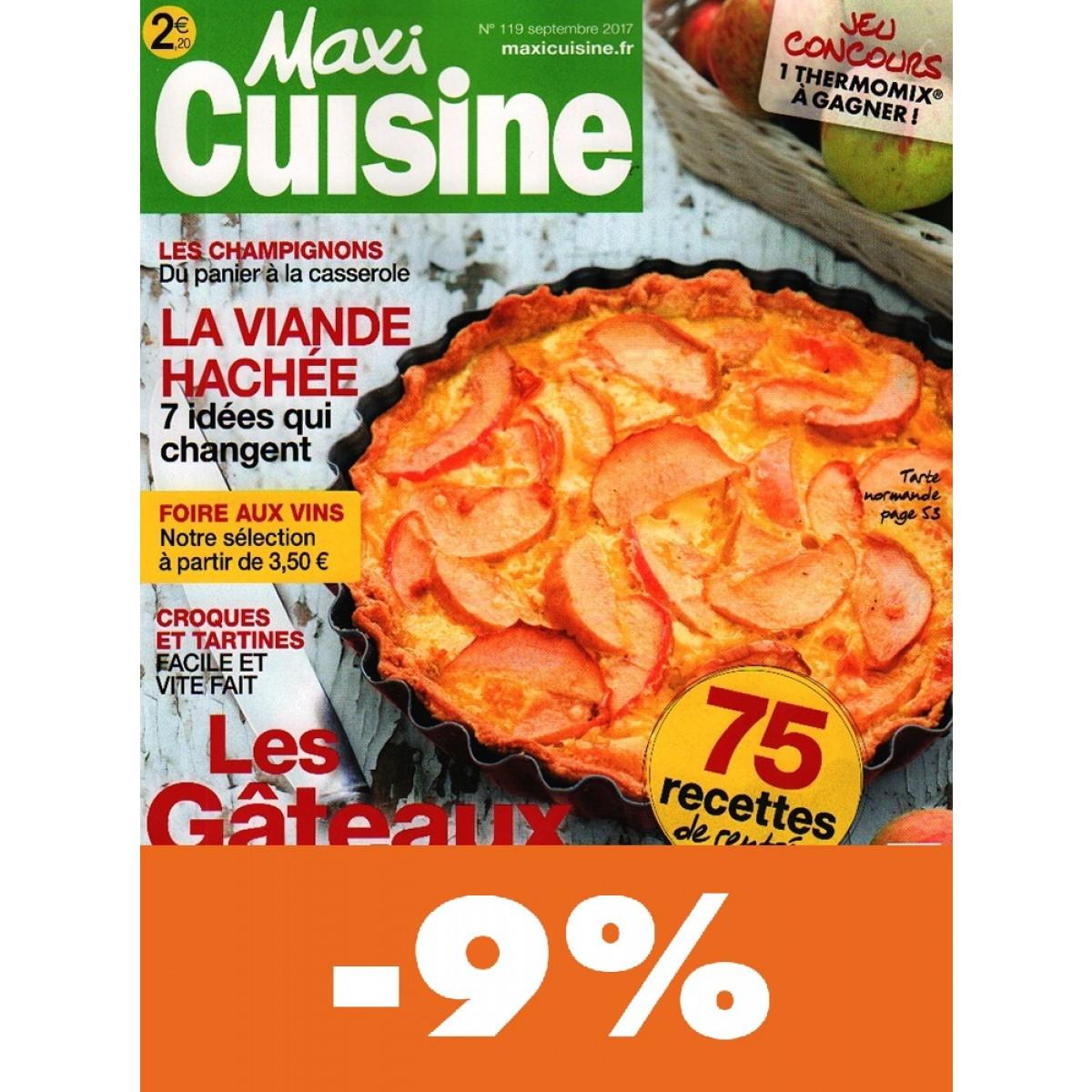 Abonnement maxi cuisine pas cher mag24 discount - Abonnement magazine maxi cuisine ...