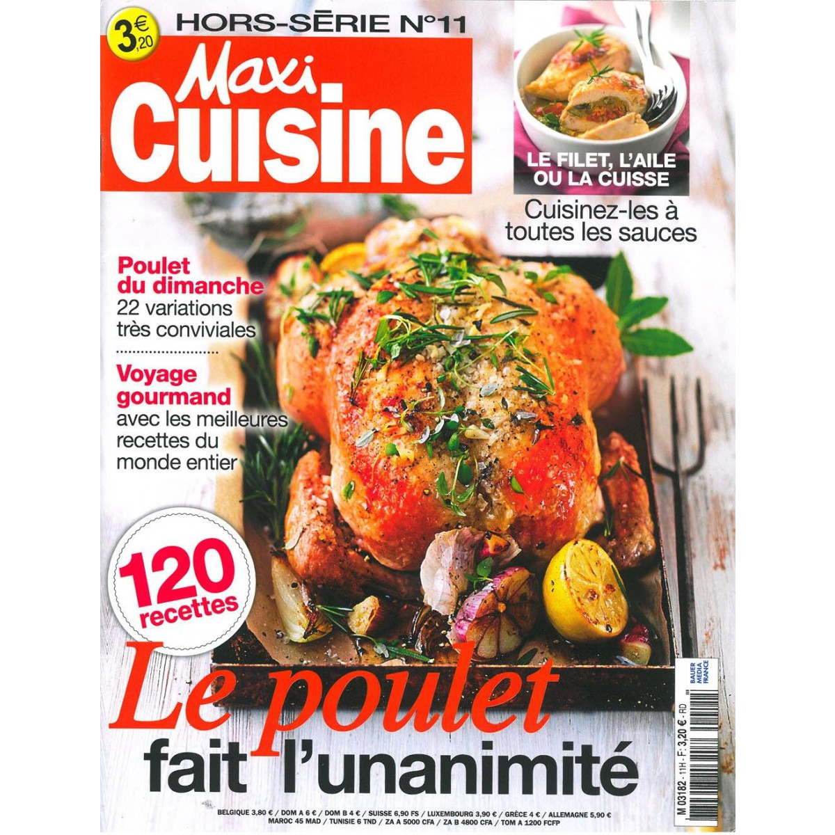 Abonnement magazine maxi cuisine les hors s rie sur mag24 for Hors serie cuisine