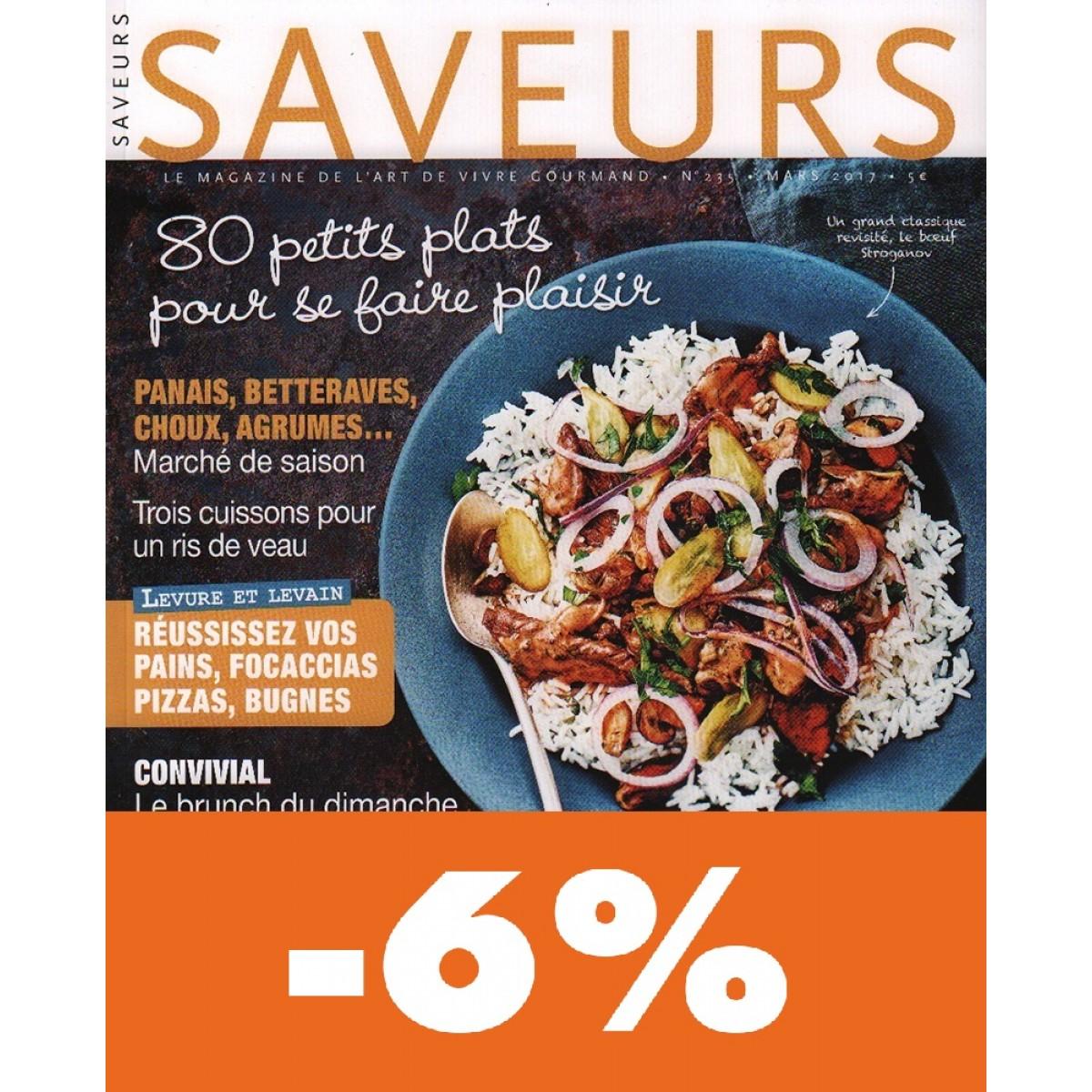 Favori → Abonnement Saveurs pas cher - Mag24 - Magazine Discount DG82