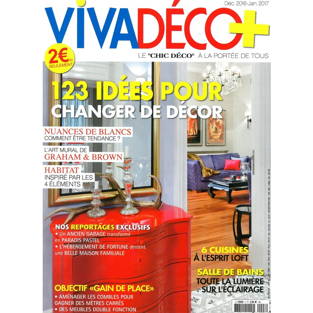 viva d co abonnement magazine pas cher mag24. Black Bedroom Furniture Sets. Home Design Ideas