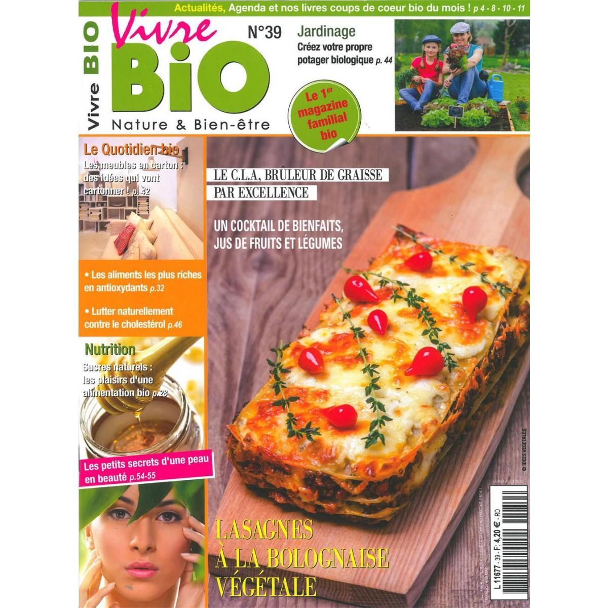 abonnement vivre bio pas cher mag24 magazine discount. Black Bedroom Furniture Sets. Home Design Ideas