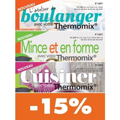 → cuisine facile avec thermomix® : offre -15% sur 3 revues - mag24