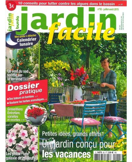abonnement magazine jardin facile sur mag24. Black Bedroom Furniture Sets. Home Design Ideas