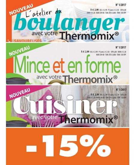 La cuisine facile avec Thermomix® : Offre couplée 3 revues